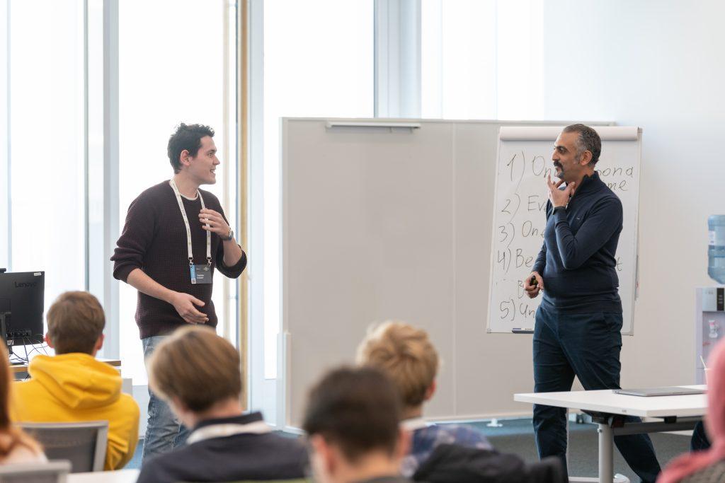 Ziad Barouni at Skoltech Innovation Workshop