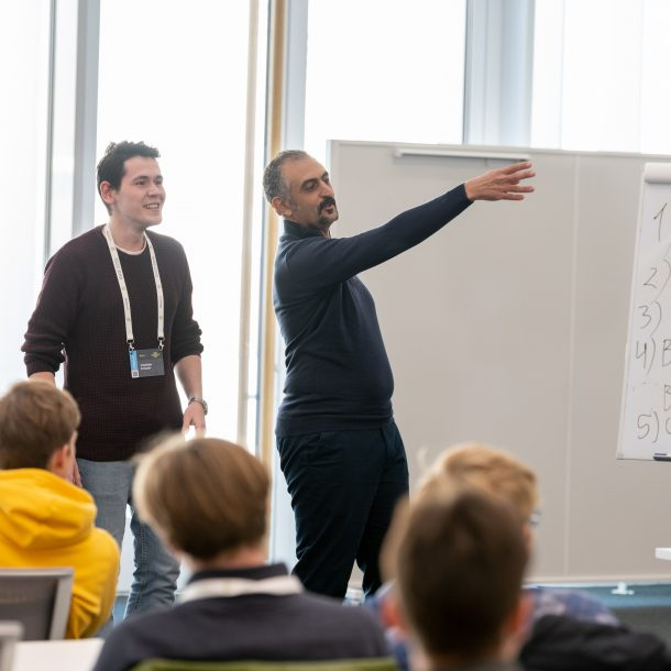 Courses - Public Speaking at Skoltech