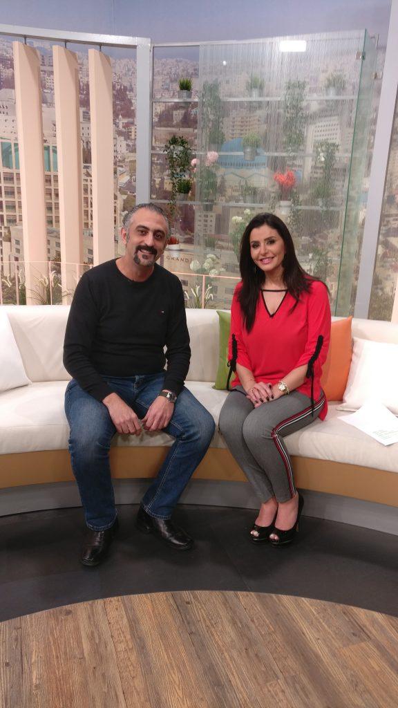 Ziad Barouni Interview on TV