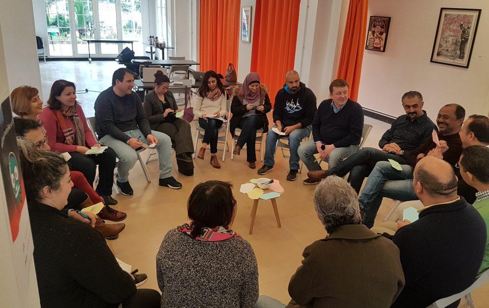 Ziad Barouni at DW Akademie first Media training