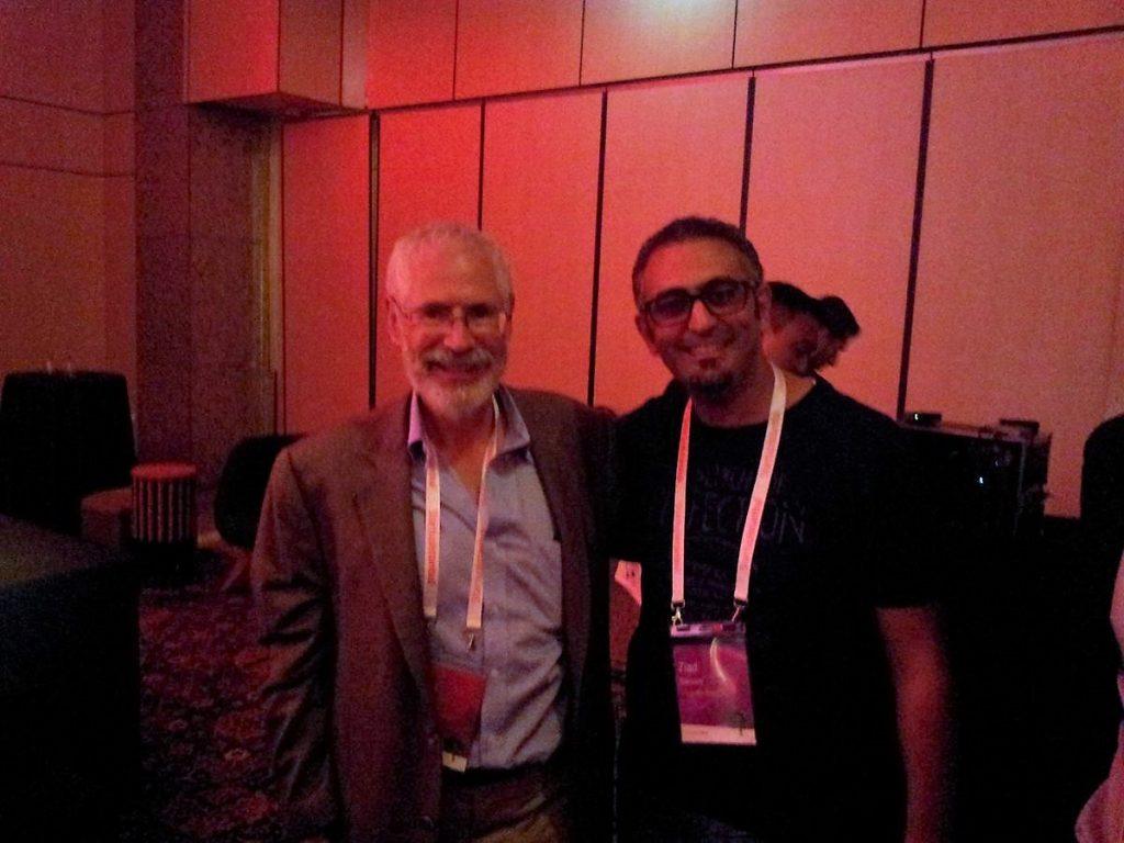 Ziad Barouni With Steve Blank